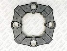 Эластичное соединение (демпфер) для колесный экскаватор JCB JS160W (331/25063, KNJ0949)